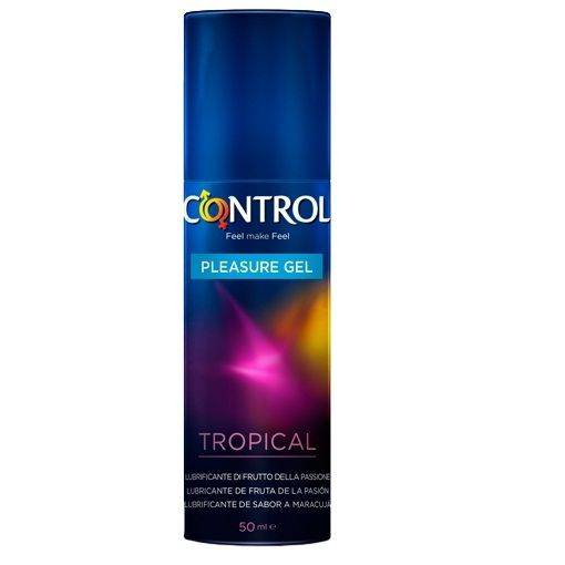 Comprar  GEL LUBRICANTE CONTROL SABOR TROPICAL  50ML
