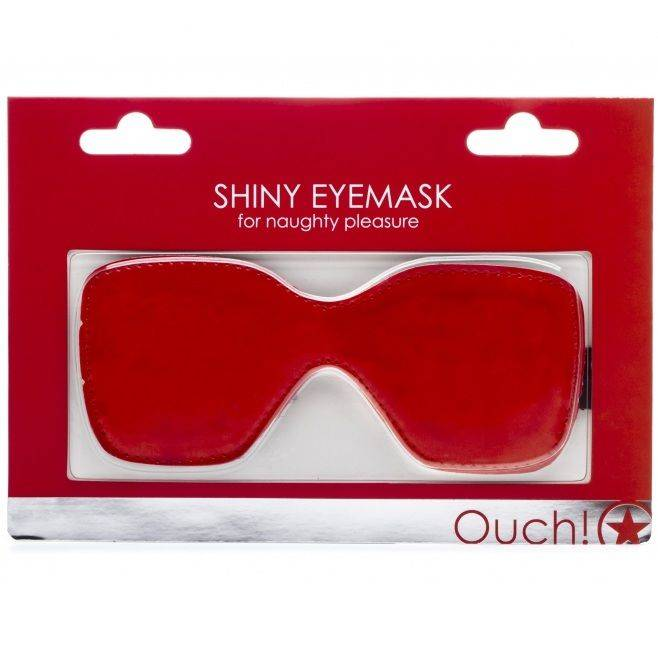 Comprar OUCH SHINY ANTIFAZ ROJO BRILLO