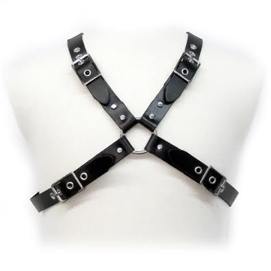 Comprar LEATHER BODY BLACK BUCKLE HARNESS FOR MEN