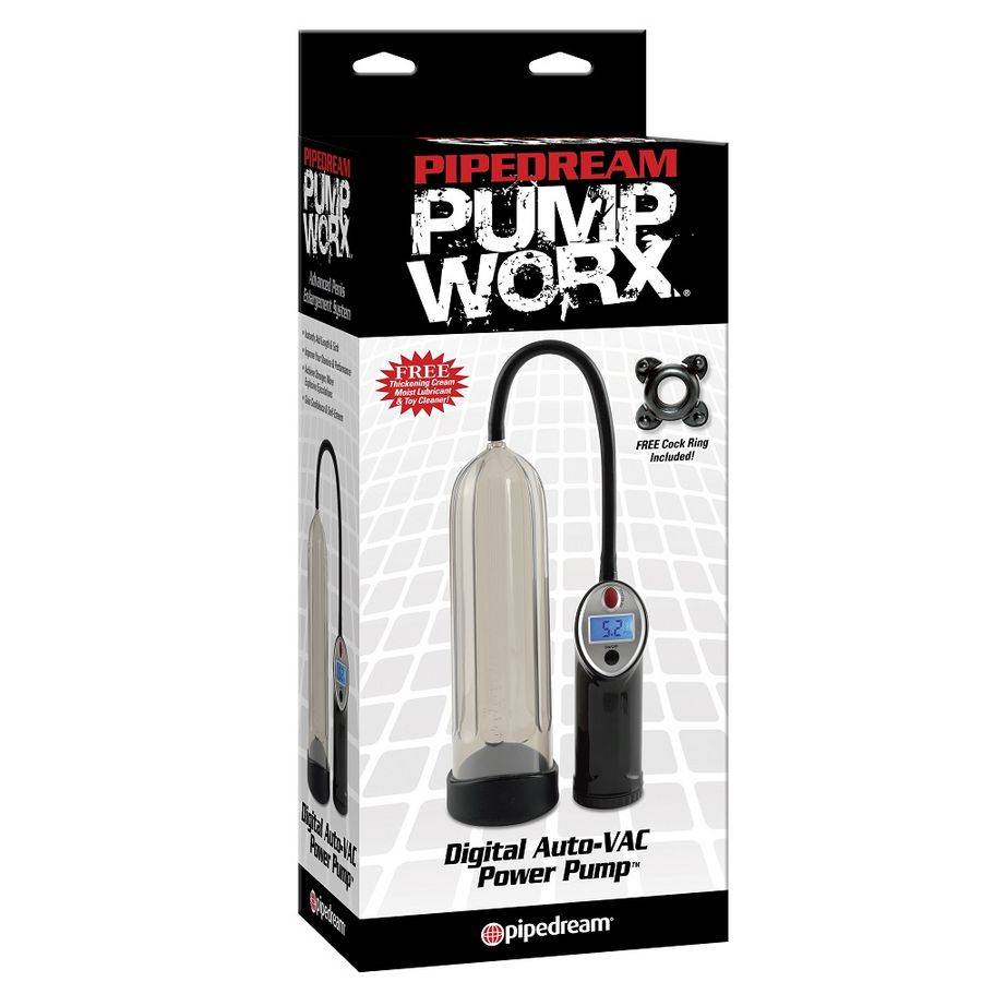 Comprar PUMP WORX BOMBA DE ERECCION DIGITAL